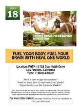 Farmers Market Nutrition Demo Flyer (PDF)