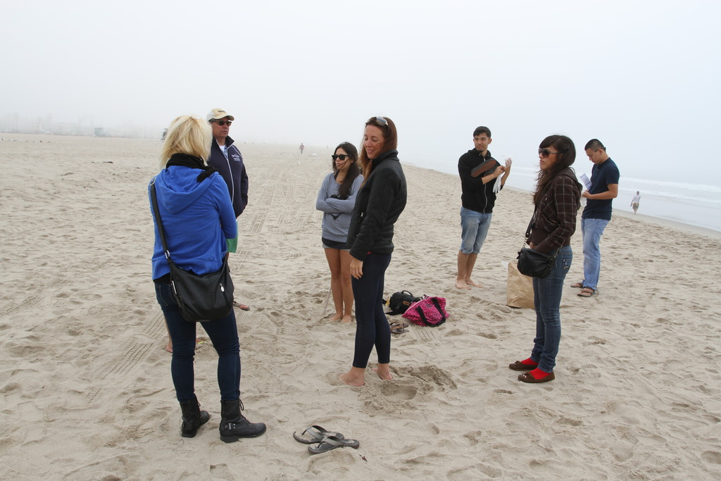 Our Beach Clean Up Event w/ Heal the Bay