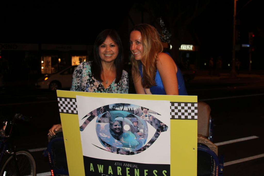 Pedi-Cab as part of Awareness Festival