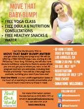 Prenatal Yoga Flyer (PDF)
