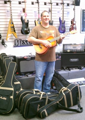 Meet Scott who has repaired the guitars