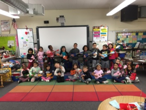 Mary Jennings-Mull's students' first concert!