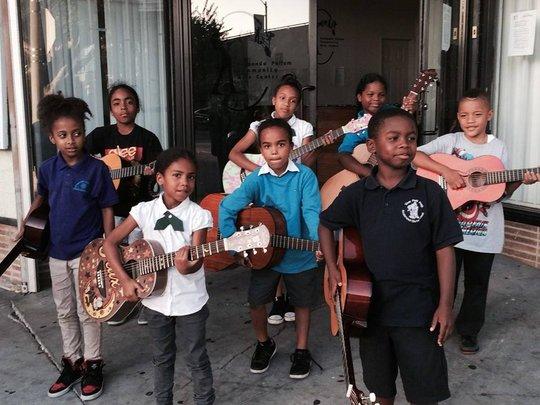 Guitar at the Fernando Pullum Community Arts Cente