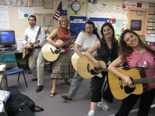 Dancing Teachers! We Love Learning Music!