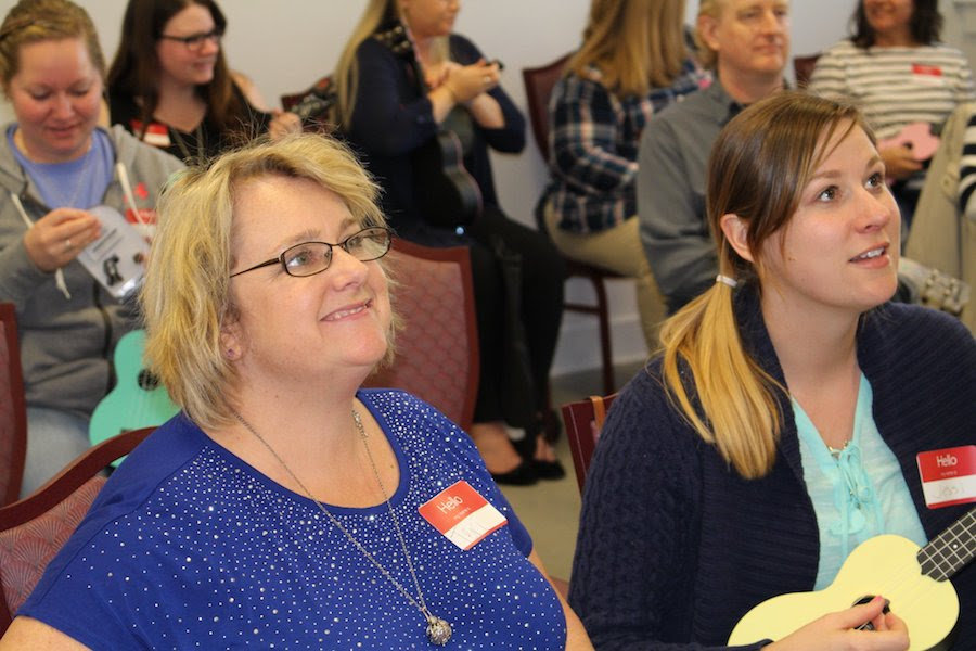 New Brunswick County Teachers Learning to Play