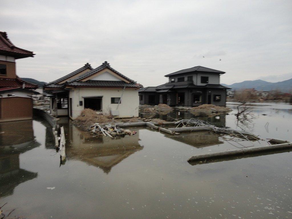 A footage of Nagatsura district shot in Dec