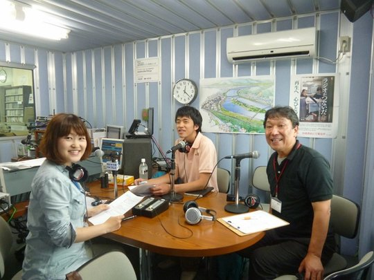 The program is hosted by PR staff in Ishinomaki