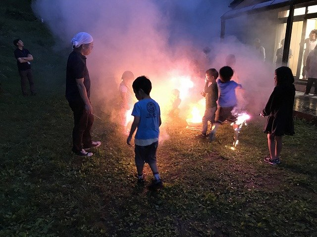 After the BBQ, we also enjoyed fireworks