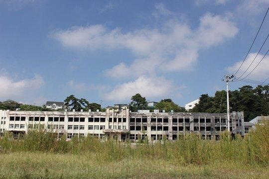Burnt Kadonowaki Elementry School