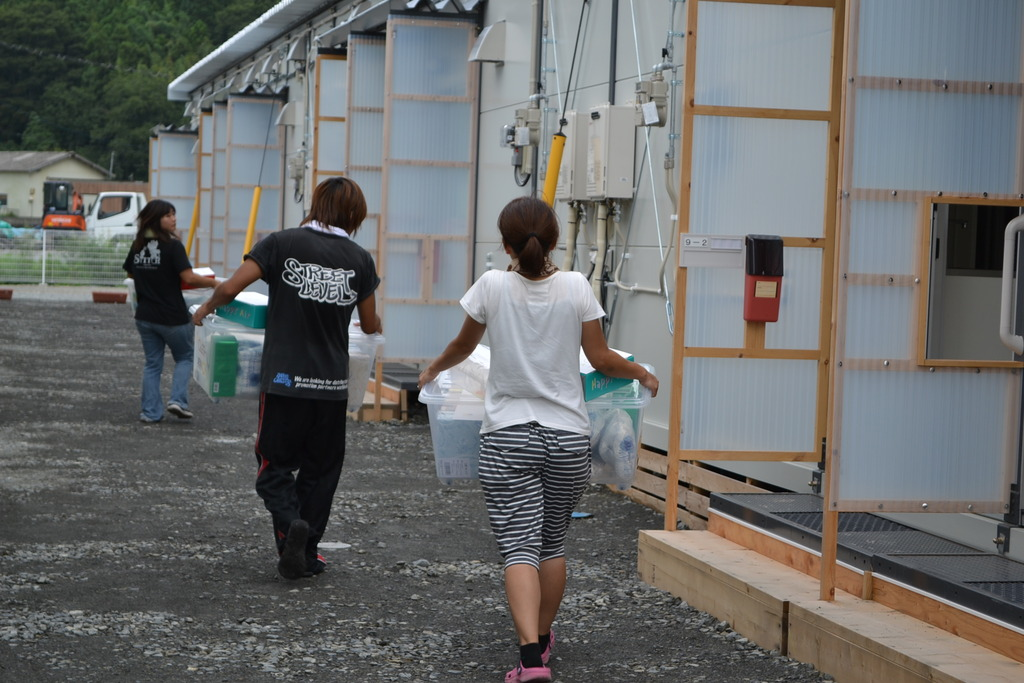 Delivering NFI to Temporary Shelters