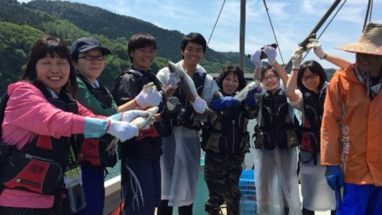 Fishing experience at Sasunohama