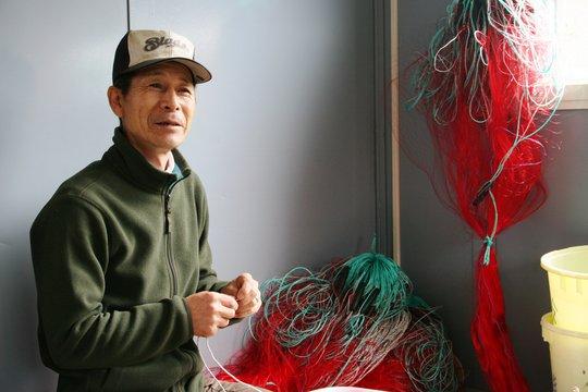 JEN helps fishermen make new nets