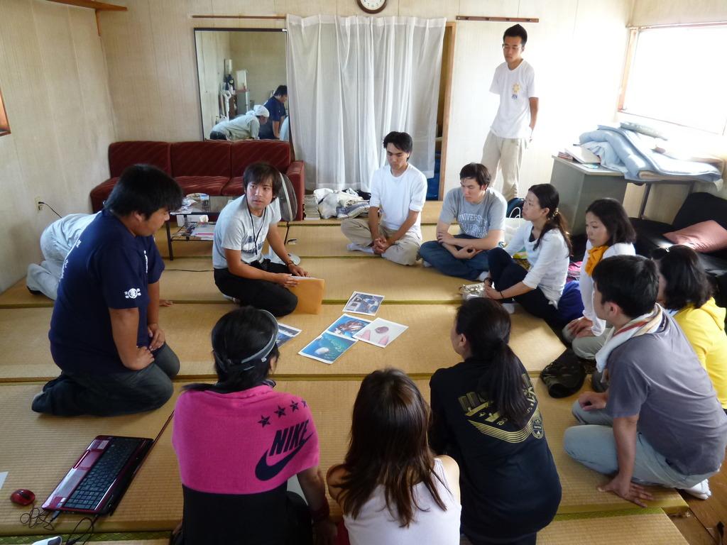 Orientation for volunteers