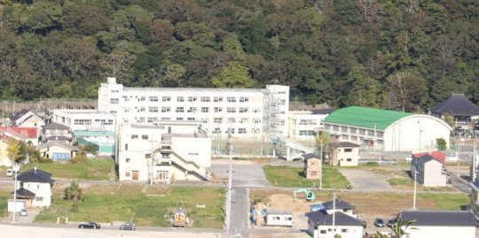 A renewed school in Ishinomaki