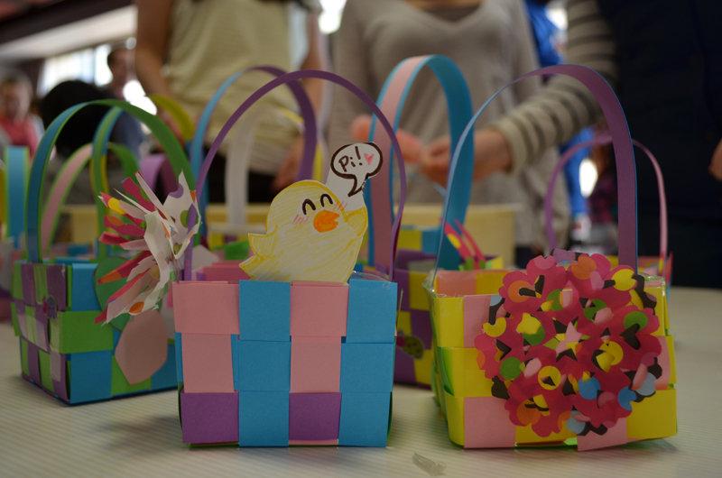 Making Easter Baskets!