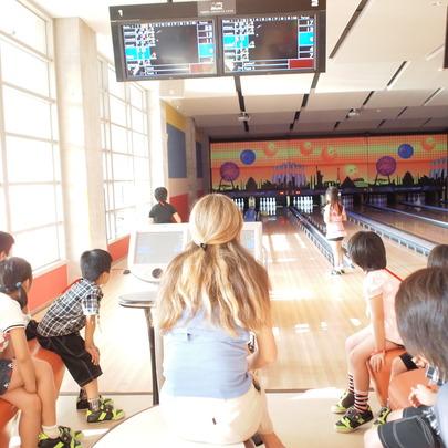 Bowling break...