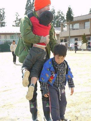 Delivering some hugs