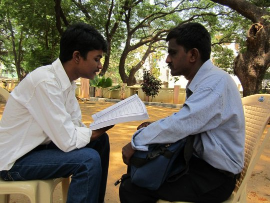 Bricks to Books_Session for Visually Challenged