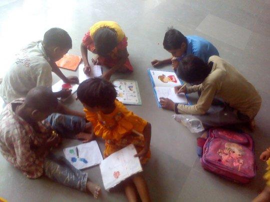 Community Children_Bricks to Books