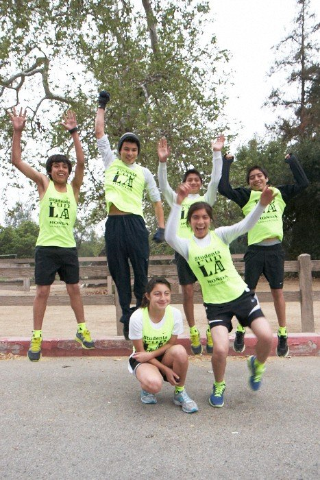 SRLA Students Ready For Honda LA Marathon