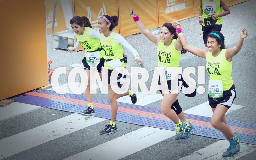 SRLA Triumphs at the 2013 ASICS LA Marathon