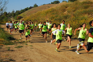 SRLA Students Training for the LA Marathon