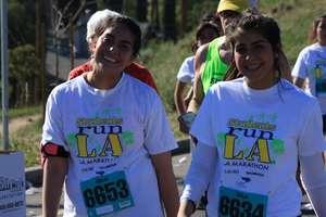 SRLA Students Running the 18-Mile Friendship Run