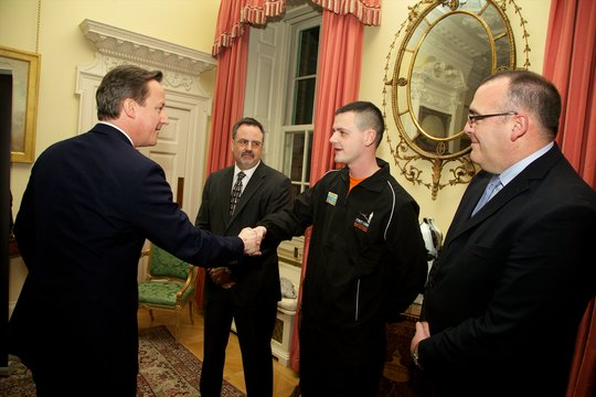 David Cameron meets our participants