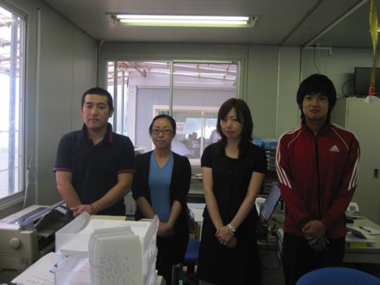 Thank You from Shizugawa Fishing Co-op Staff