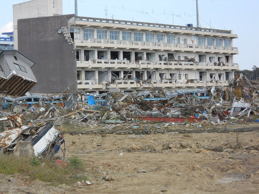 Former site of Koyo Maritime High School