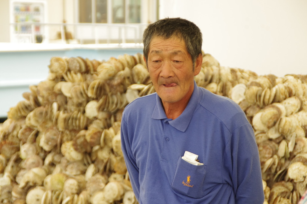 Mr. Endo, Oyster Farmer in Minamisanriku