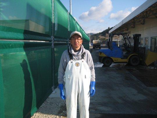 Endo-san @ Shizugawa Fishing Cooperatives