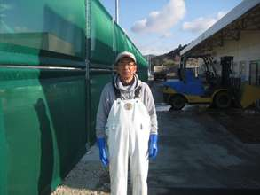 Endo-san @ Shizugawa Fishing Cooperatives
