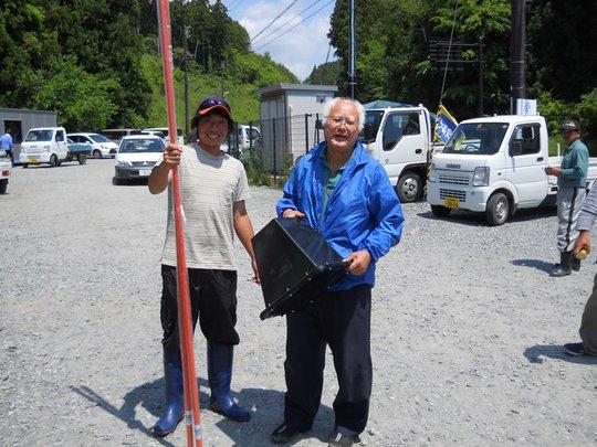 Abalone fishing equipment