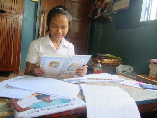 With love from Cambodia the joy of learning