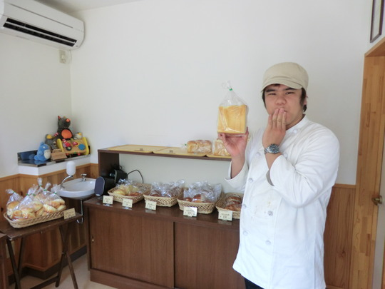Baker Kiichi SHOJIGAMI (Huck's House, Iwate Pref.)