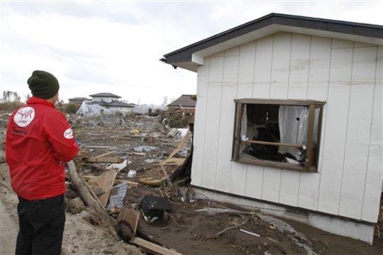 Devastated social welfare facility