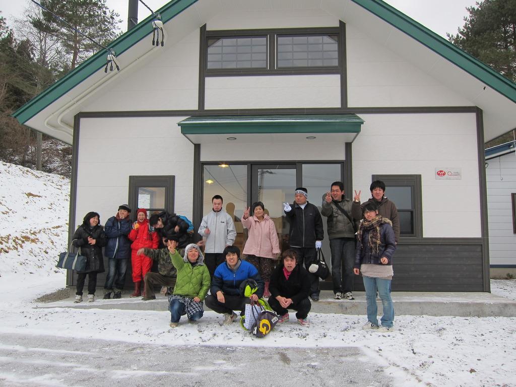 New bakery building (Iwate Pref., 20 Jan 2012)