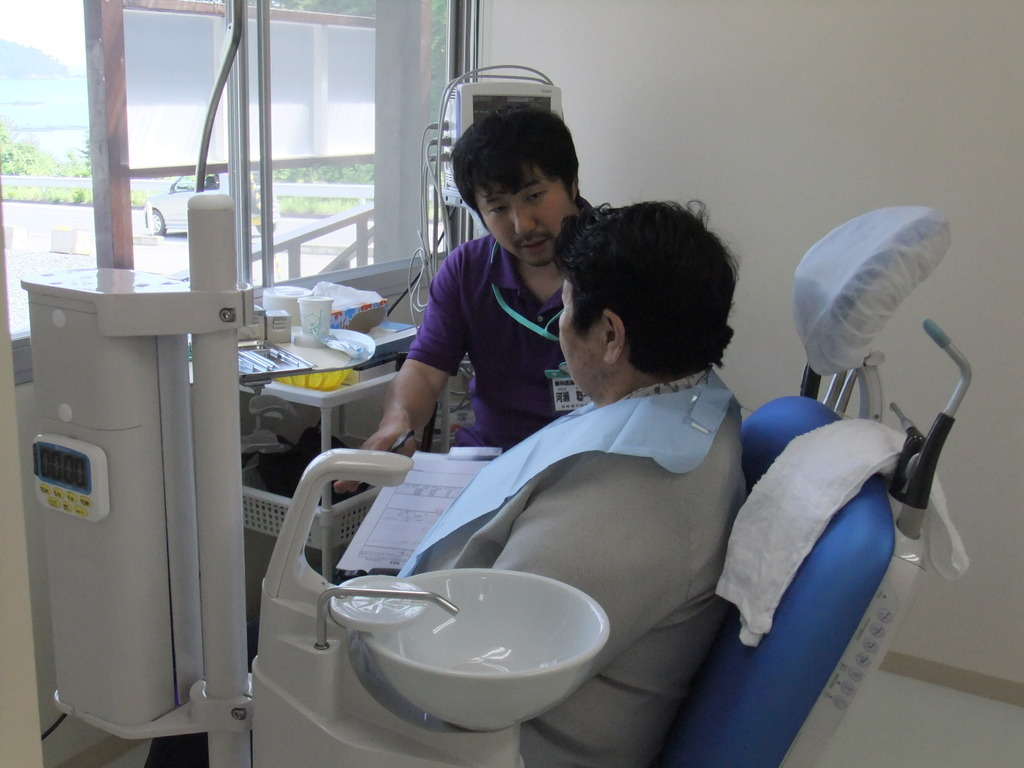 Patients treated at new Ogatsu dental clinic