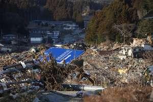 Rikuzen-Takata City after the tsunami