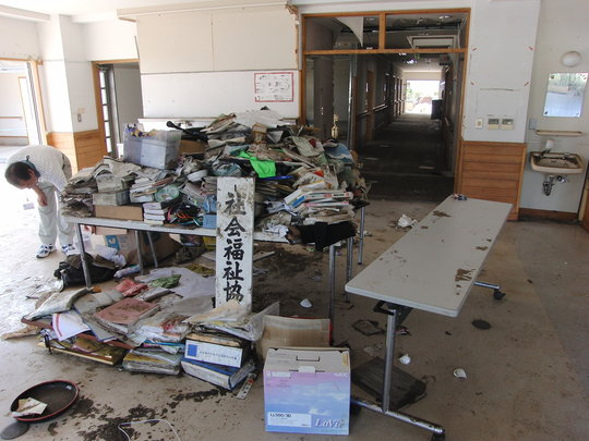Destroyed by the Tsunami (1)