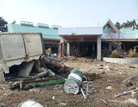 Rubato, immediately after the earthquake