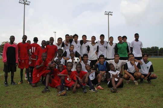 Sports Exchange for Haitian Children 2010