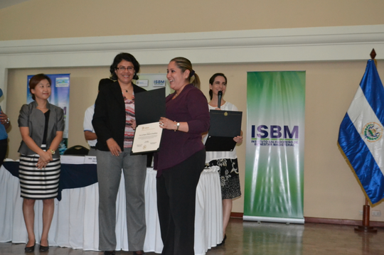Receiving Brain Education certificate