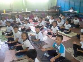 Kids feeling energy