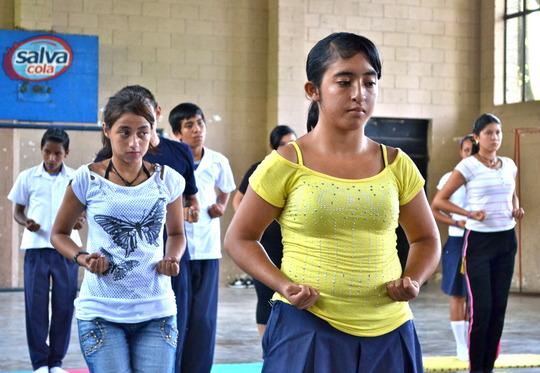 Dahn Mu Do training