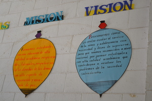 The school's mission and vision