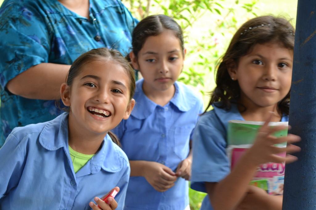 the beautiful girls in the school help us prepare