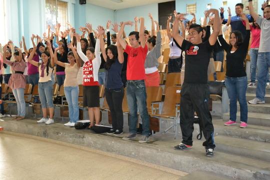 Workshop in University of El Salvador