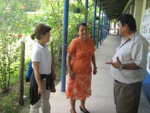 The school director and teacher of the focus group